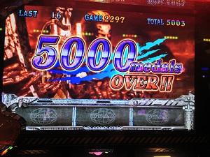 バイオハザード5で5000枚オーバー!