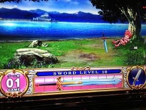 シンデレラブレイドで剣レベル10
