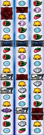 蒼天の拳2のリール配列図